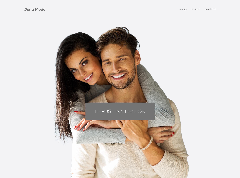 Webdesign JANA Mode by LEWEB